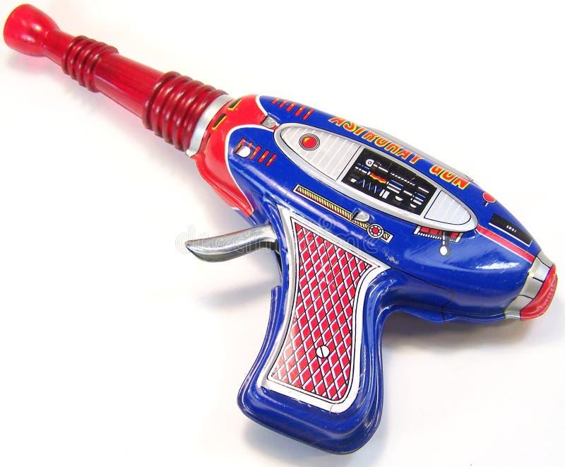 Rocznik zabawki przestrzeni pistolet zdjęcie royalty free