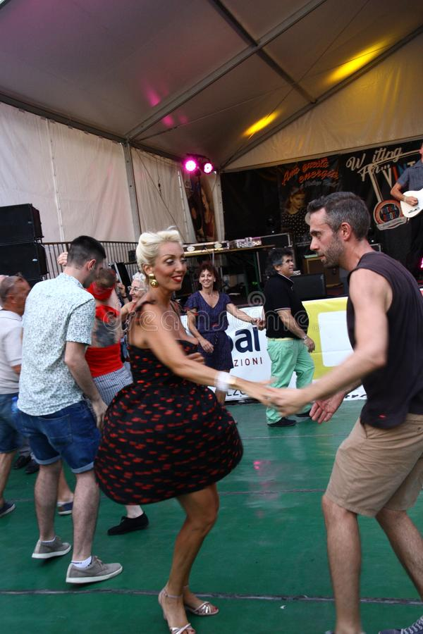 Rocznik Zakorzenia festiwal - Melzo, Czerwiec 30, 2019 fotografia royalty free