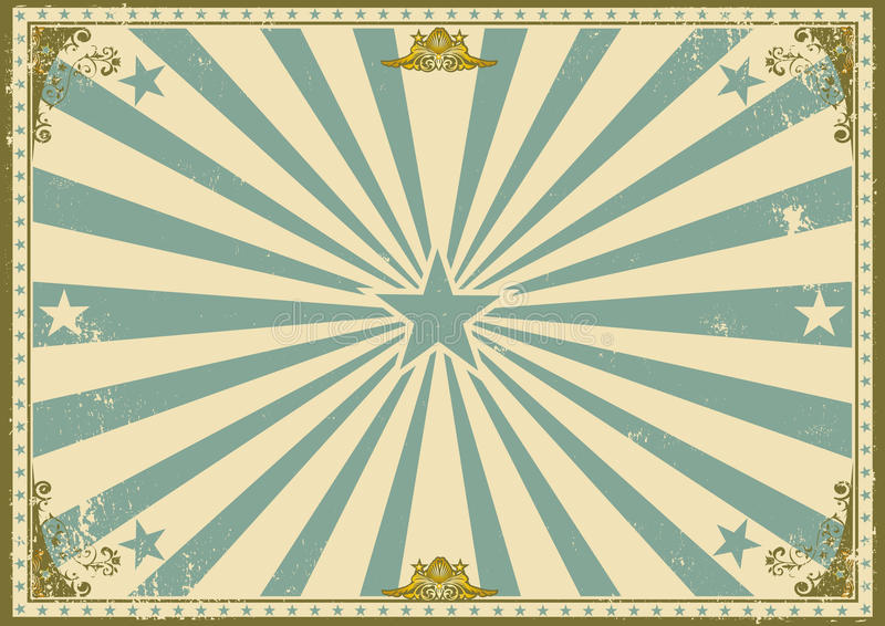 Rocznika świadectwa horyzontalny tło royalty ilustracja
