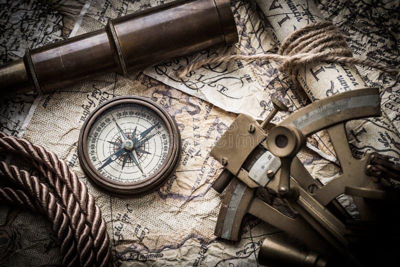 Rocznika żołnierza piechoty morskiej wciąż życie obraz stock