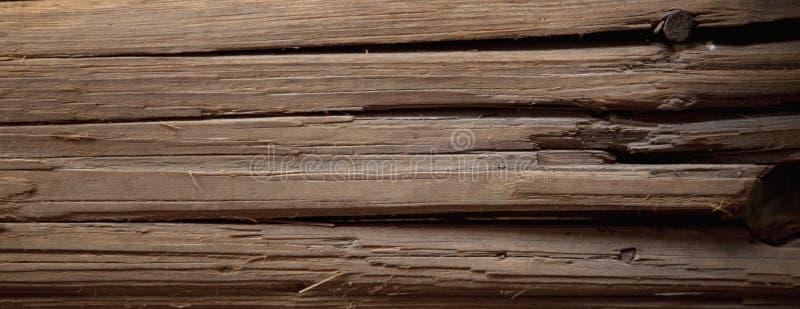 Rocznika antyczny drewniany tło Bogata drewniana tekstura deska obrazy stock