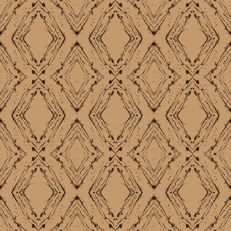 Rocznika argyle wektorowy wzór, bezszwowy tło ilustracji
