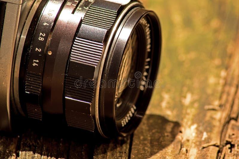Rocznika Asahi Pentax Spotmatic SLR kamery obiektyw fotografia stock