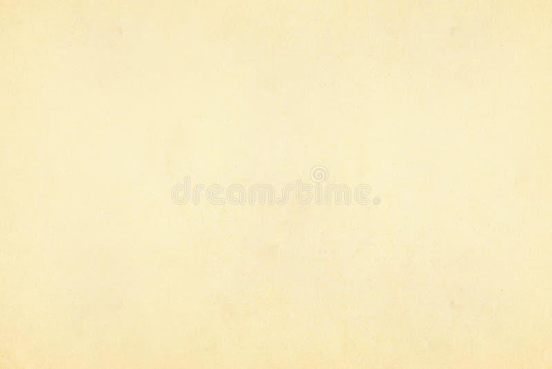 Rocznika beżu i koloru żółtego stary papierowy pergamin textured tło zdjęcie royalty free