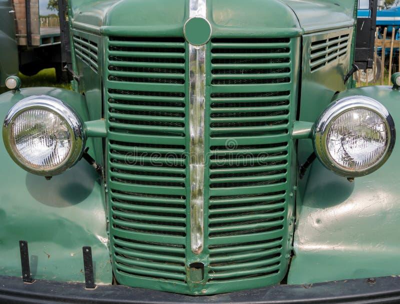 Rocznika Bedford ciężarówka zdjęcia royalty free