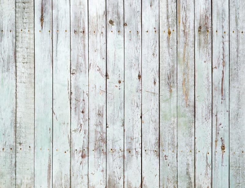 Rocznika biały drewniany ścienny tło obraz stock