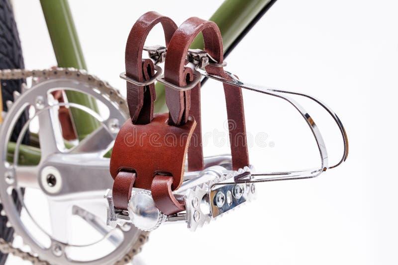 Rocznika bicyklu następy zdjęcia royalty free