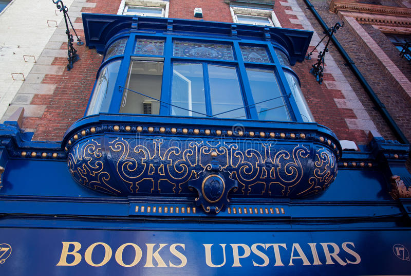 Rocznika bookstore, Dublin obraz stock