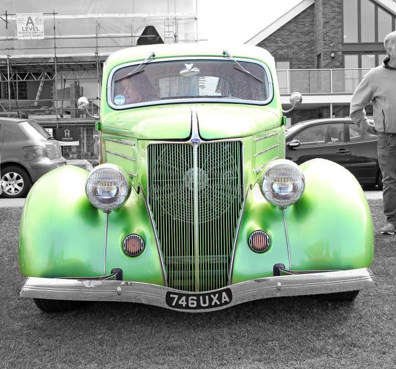 Rocznika brodu brytyjski samochód zdjęcia royalty free
