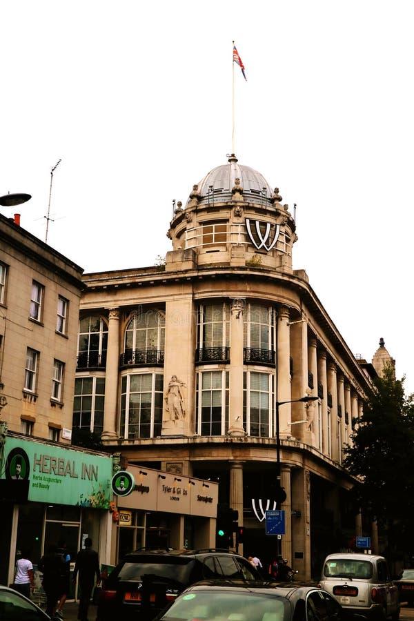 Rocznika budynek zdjęcia royalty free