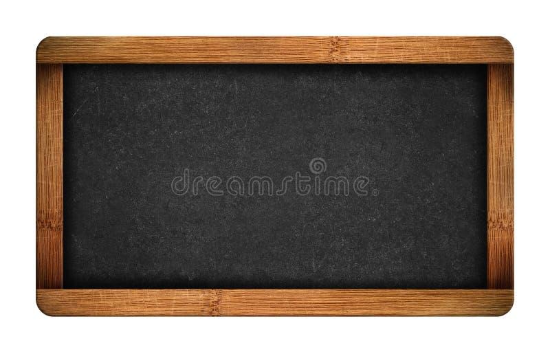 Rocznika chalkboard pusty łupek zdjęcia stock