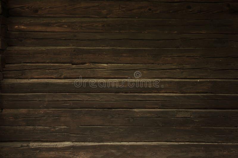 Rocznika drewna ściany tło zdjęcia stock