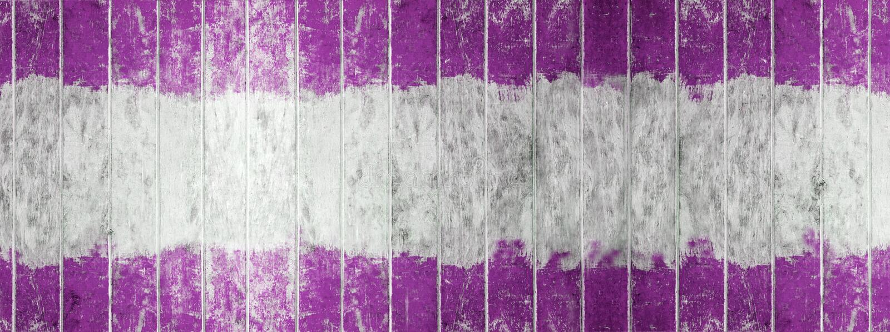 Rocznika drewna deska, Dwa brzmienie koloru purpury i biel malującej drewno ściana jako, tło lub tekstura, Naturalny wzór fotografia stock