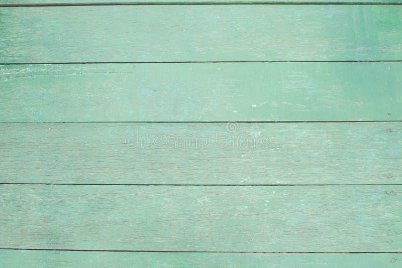 Rocznika drewna zieleni tekstury tło obrazy royalty free