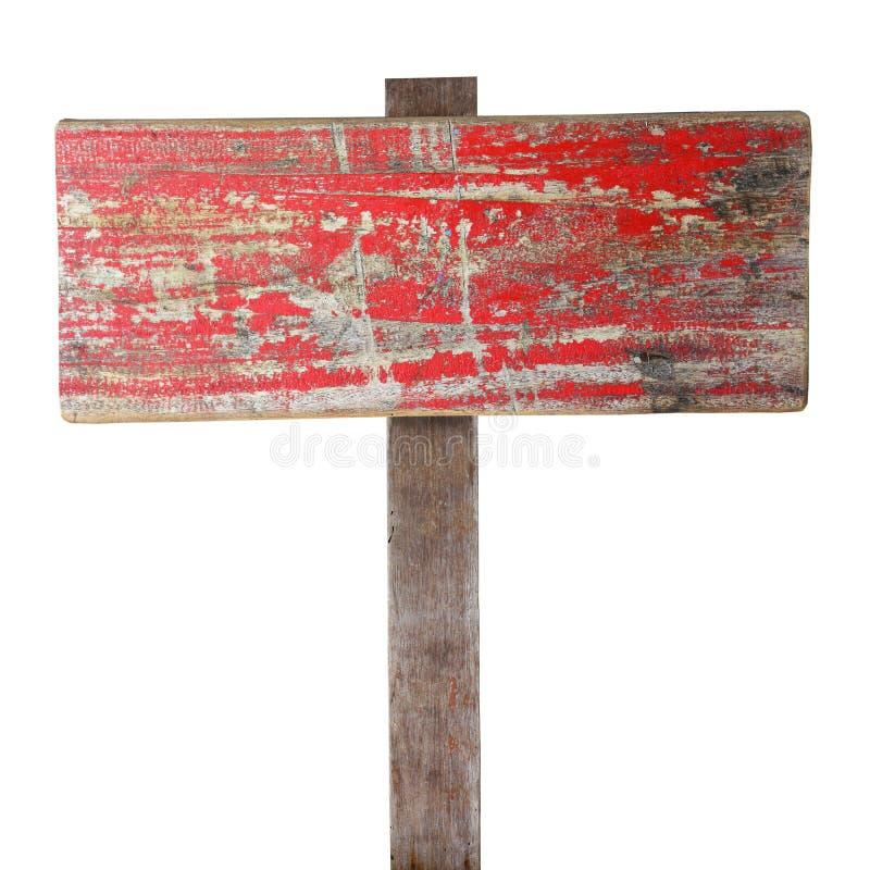 Rocznika drewna znak zdjęcie royalty free