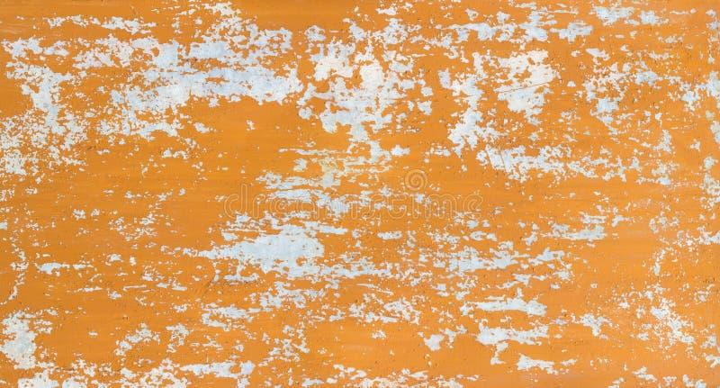 Rocznika drewniany tło z obieranie farbą zdjęcia royalty free
