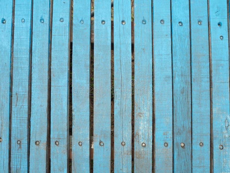Rocznika drewno tło tekstura z kępkami i gwóźdź dziurami fotografia stock