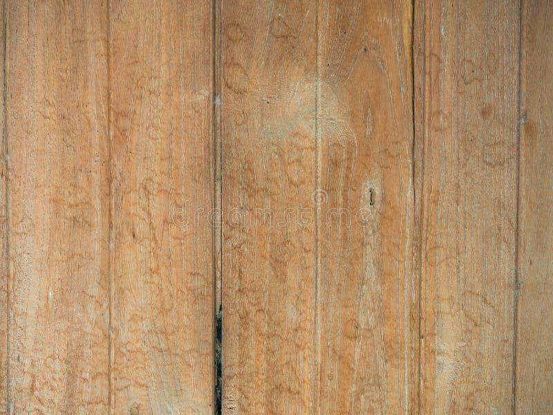 Rocznika drewno tło tekstura z kępkami i gwóźdź dziurami zdjęcie royalty free