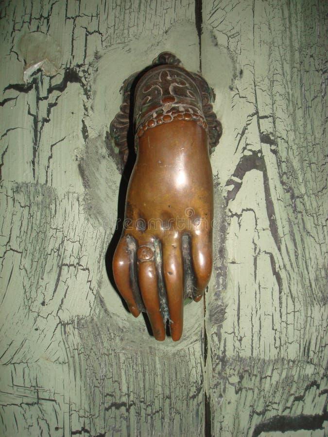 Rocznika drzwiowy dzwon zdjęcia stock