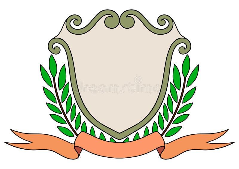 Rocznika emblemata odznaka ilustracja wektor