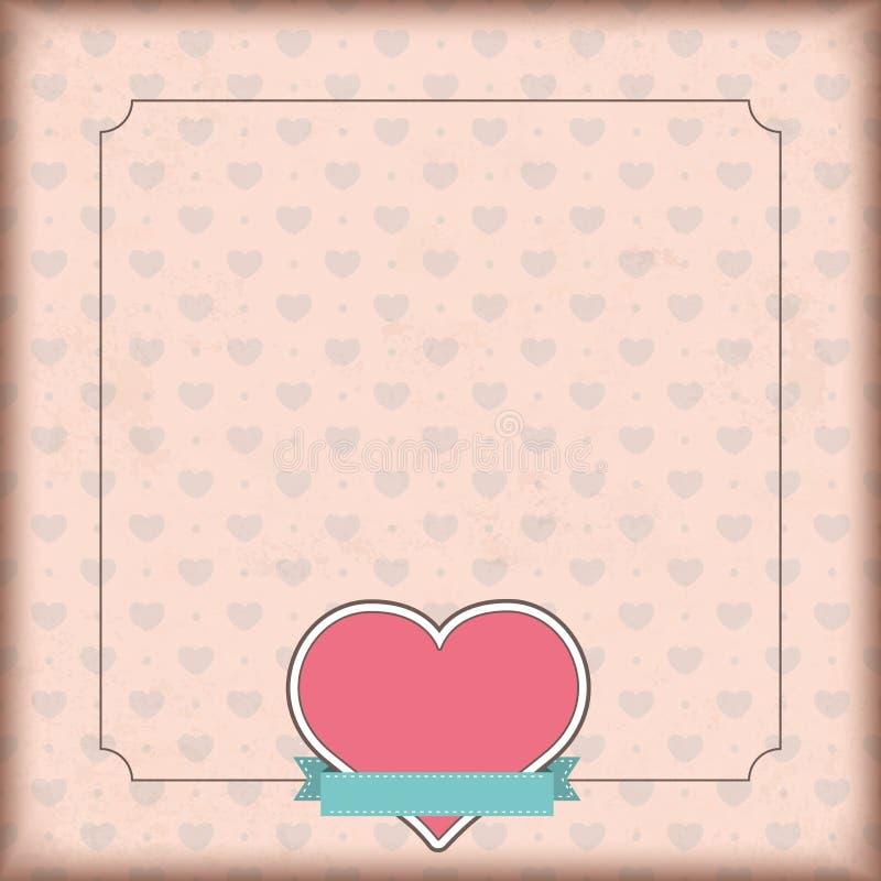 Rocznika emblemata Okładkowy Kierowy faborek royalty ilustracja