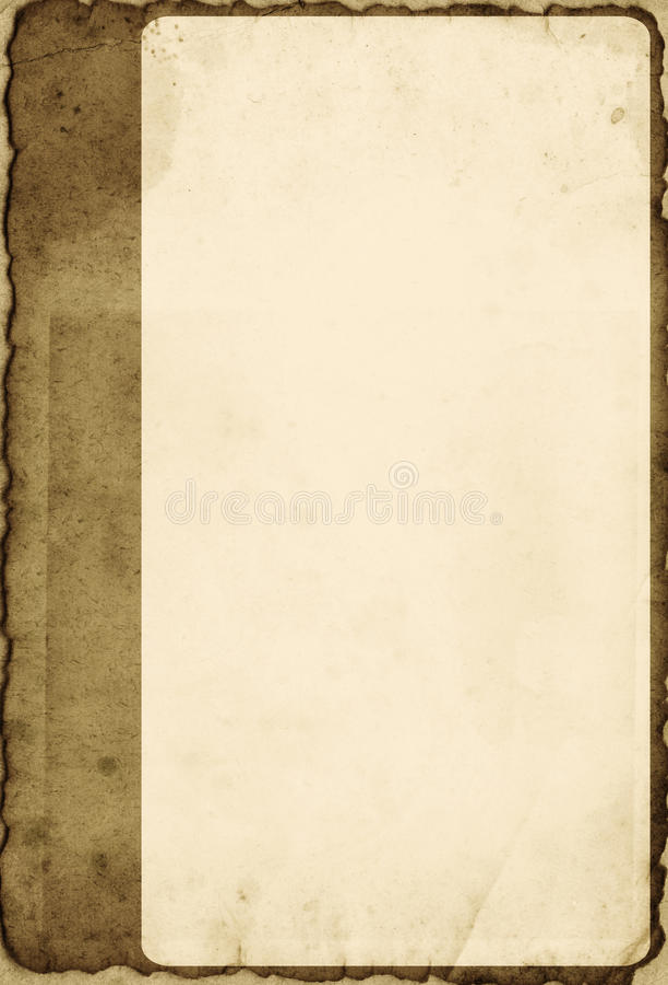 Rocznika fotografii rama ilustracja wektor