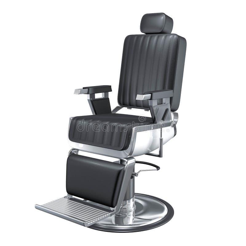 Rocznika fryzjera męskiego sklepu krzesła 3d rendering zdjęcie royalty free