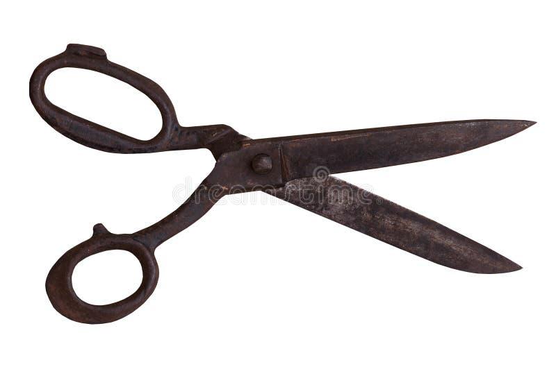 Rocznika gospodarstwa domowego nożyce obraz royalty free