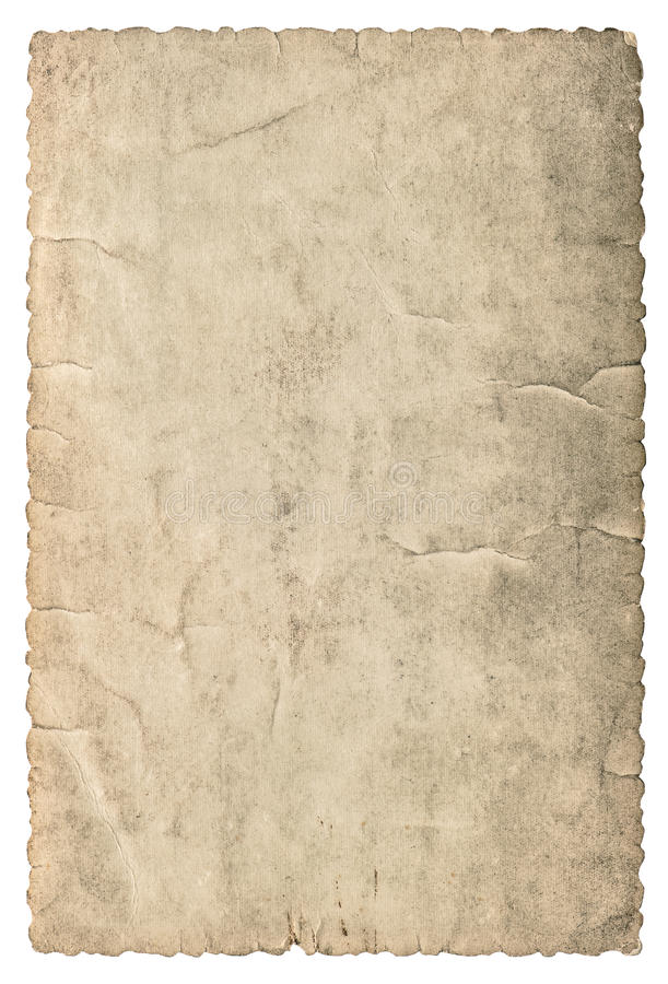 Rocznika grungy karton z krawędziami używać papierowa tekstura obrazy stock
