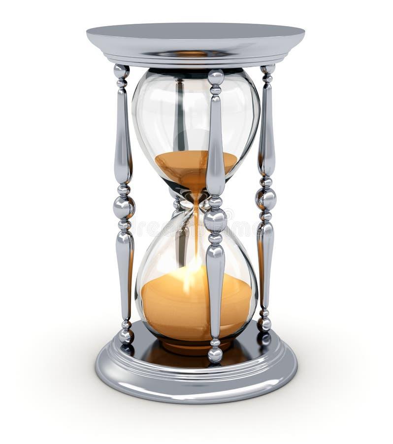 Rocznika hourglass royalty ilustracja
