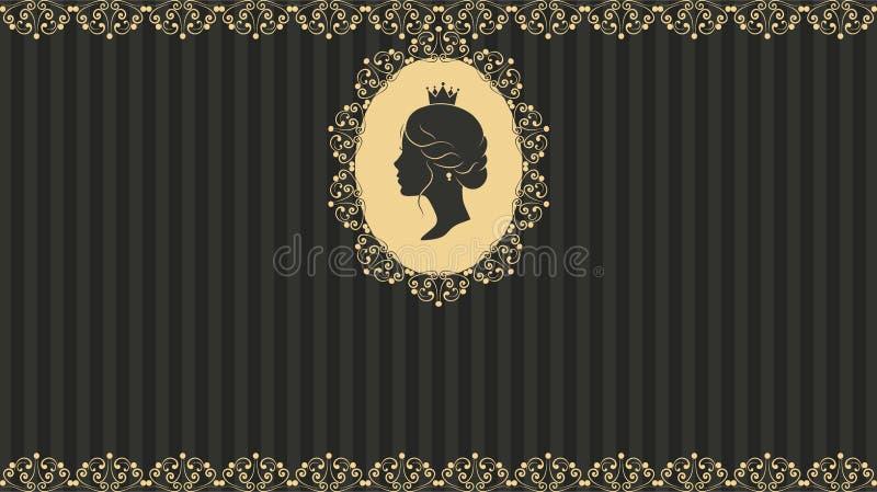 Rocznika kartka z pozdrowieniami projekt royalty ilustracja