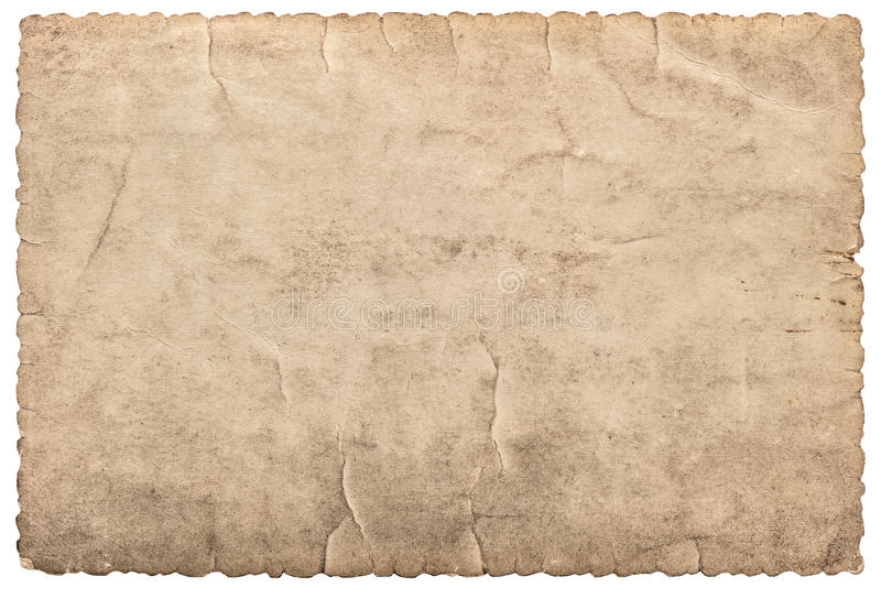 Rocznika karton jako rama dla fotografii i obrazków papier używać zdjęcia royalty free