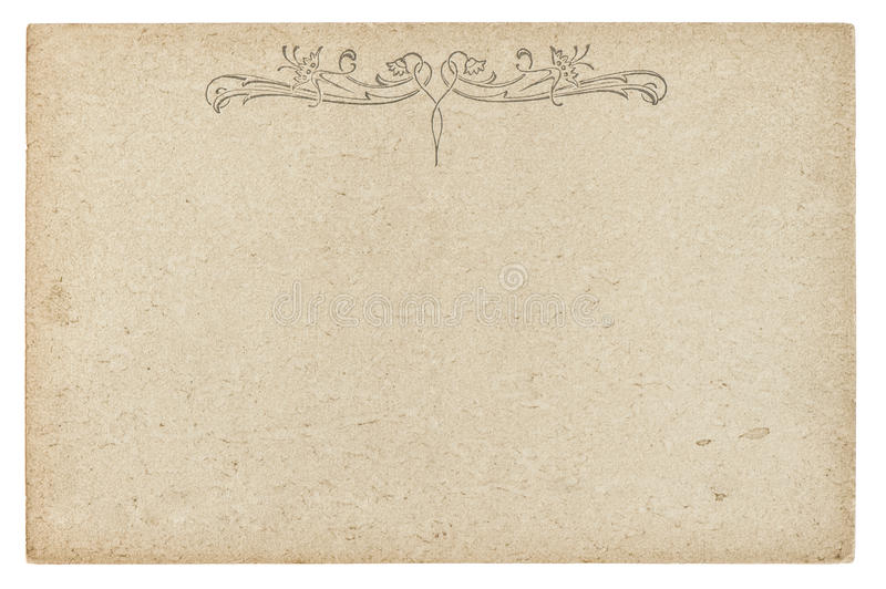 Rocznika kartonu tekstura Używać papierowy tło zdjęcia stock