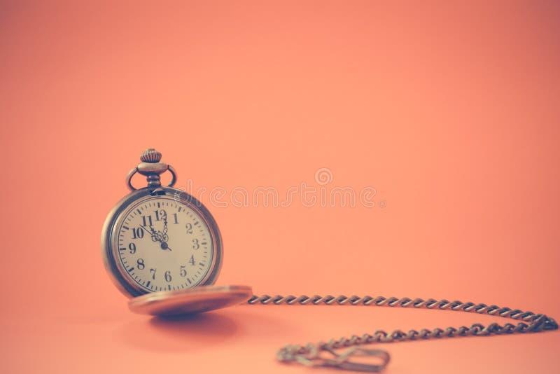 Rocznika kieszeniowy zegarek obrazy royalty free