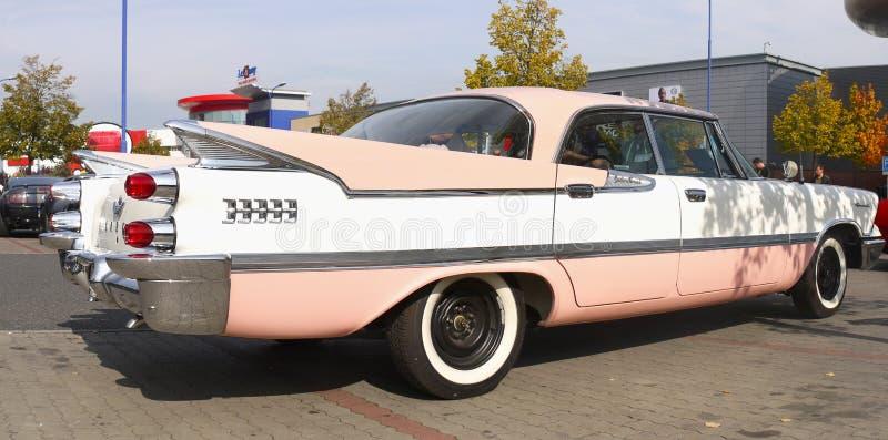 Rocznika Klasyczny Amerykański samochód 50-60Â's zdjęcia stock