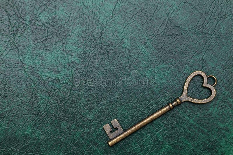 Rocznika kluczowy kierowy kształt obrazy royalty free