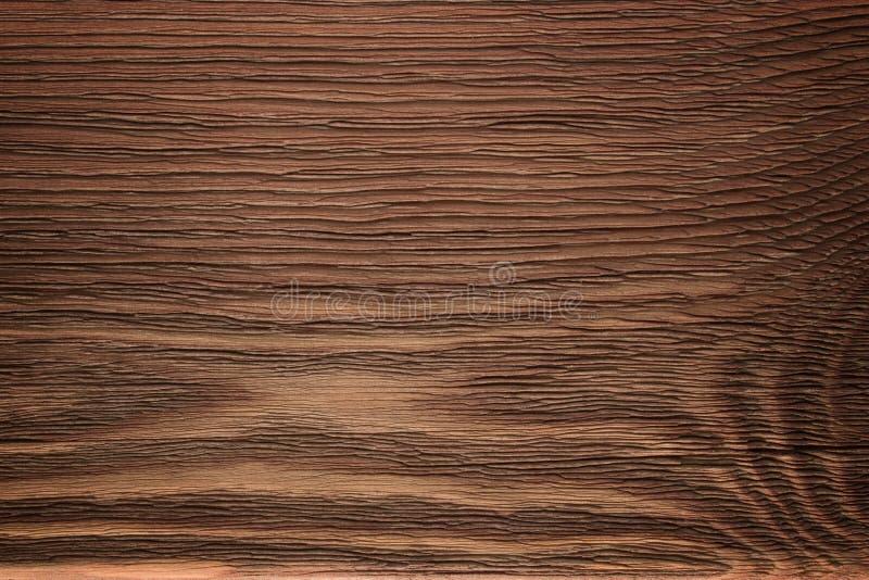 Rocznika kolorowy drewniany tło Stara brąz deska w ciepłych kolorach zdjęcie stock