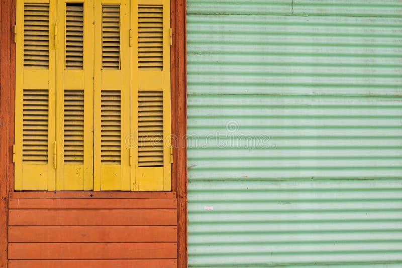 Rocznika Kolorowy okno obrazy royalty free