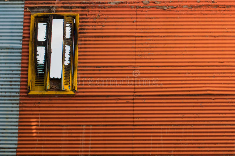 Rocznika Kolorowy okno obrazy stock
