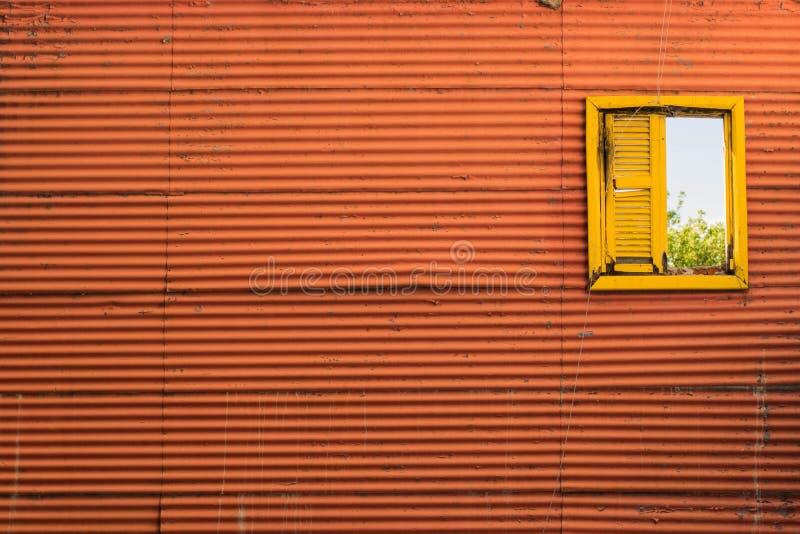 Rocznika Kolorowy okno obraz royalty free