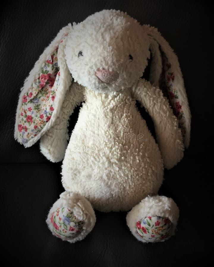 Rocznika królika zabawkarski królik fotografia royalty free