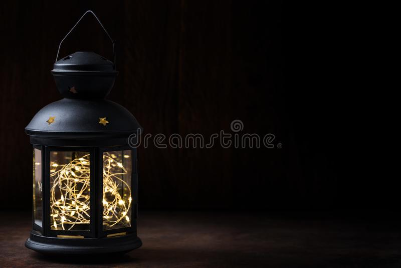 Rocznika lampion zdjęcia royalty free