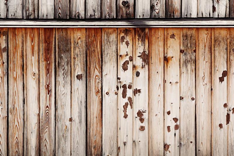 Rocznika lekki beżowy drewniany tło Stare kolorowe deski Drewniany tło fotografia stock