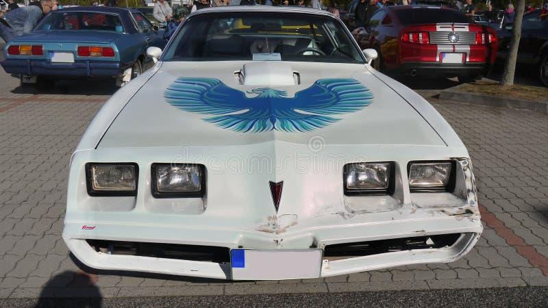 Rocznika Luksusowy samochód, Pontiac fotografia stock