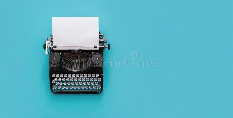 Rocznika maszyna do pisania zdjęcie stock