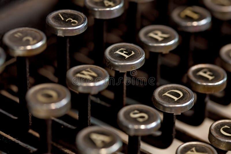 Rocznika maszyna do pisania obraz royalty free