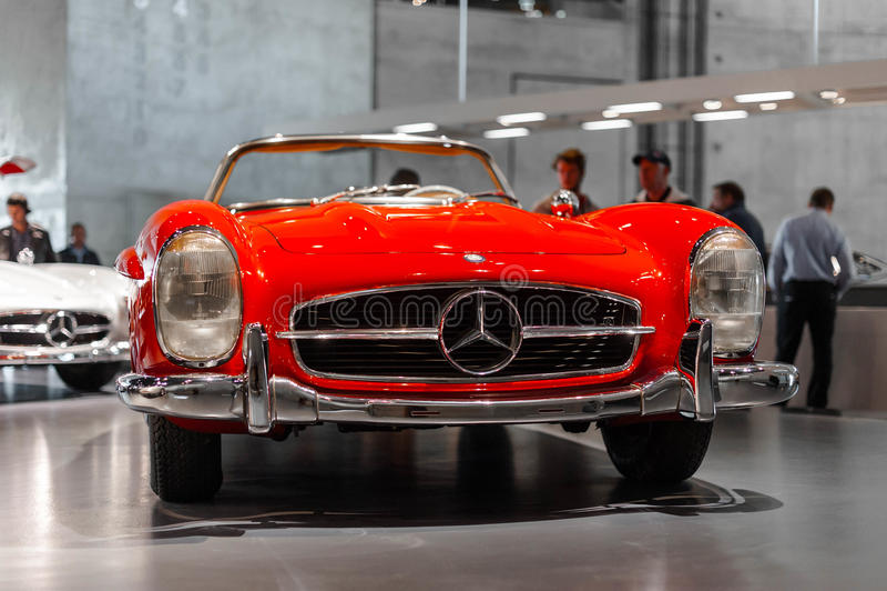 Rocznika Mercedez samochód zdjęcie royalty free