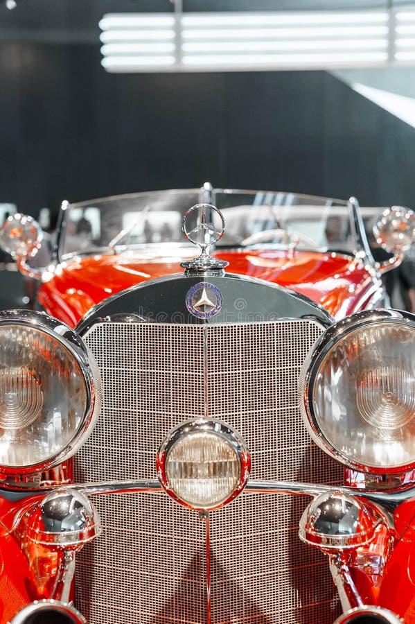 Rocznika Mercedez samochód zdjęcia royalty free