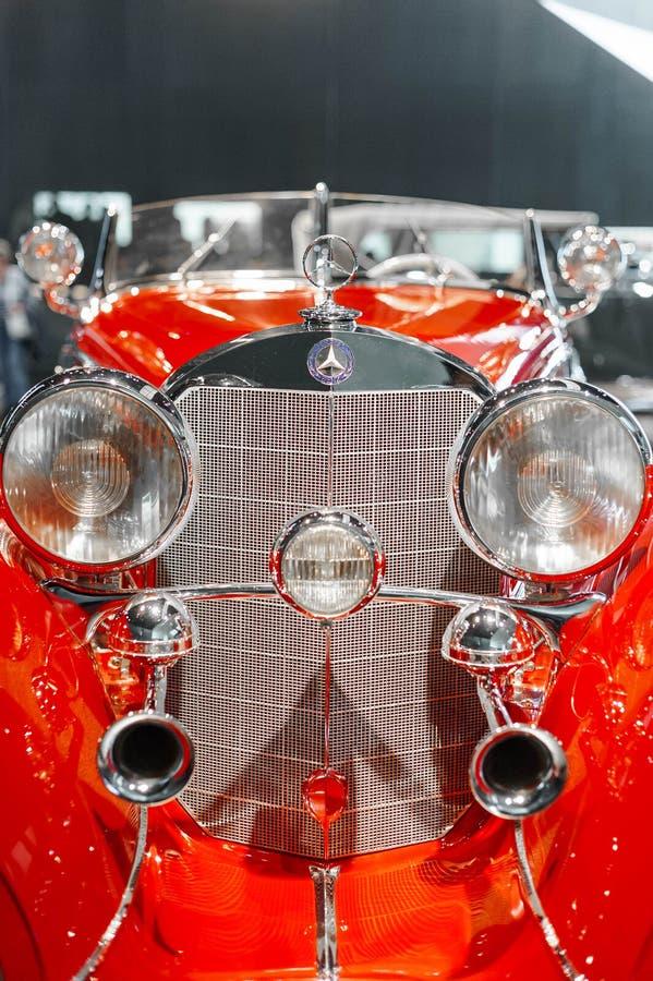Rocznika Mercedez samochód obrazy royalty free