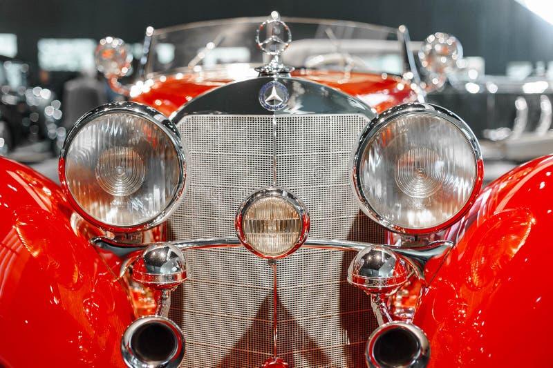 Rocznika Mercedez samochód fotografia stock